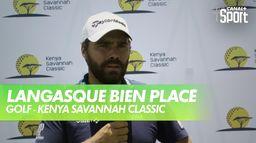 Langasque bien placé : Kenya Savannah Classic - 2ème tour