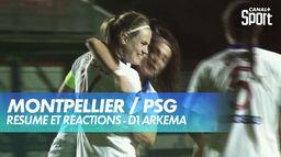 Le résumé de Montpellier / PSG : D1 Arkema
