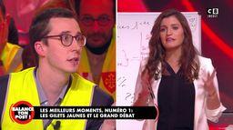 Le best-of de Balance Ton Post : les gilets jaunes face à Marlène Schiappa pour le grand débat