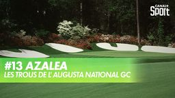 Trou 13 - Azalea : Augusta National Golf Club