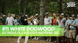 Trou 11 - White Dogwood : Augusta National Golf Club