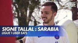 Signé Tallal avec Pablo Sarabia : Ligue 1 Uber Eats