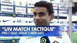 La réaction de Benjamin André après PSG / Lille : Ligue 1 Uber Eats