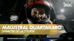 Magistral Quartararo qui s'impose au Qatar : Grand prix de Doha