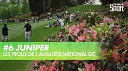 Trou 6 - Juniper : Augusta National Golf Club
