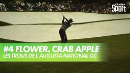 Trou 4 - Flowering Crab Apple : Augusta National Golf Club