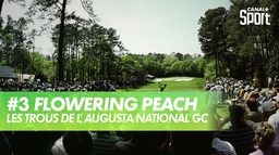 Trou 3 - Flowering Peach : Augusta National Golf Club