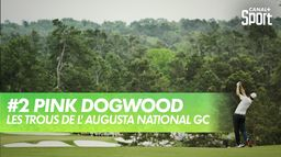 Trou 2 - Pink Dogwood : Augusta National Golf Club