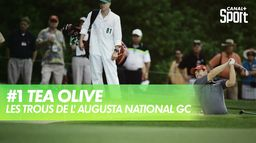 Trou 1 - Tea Olive : Augusta National Golf Club