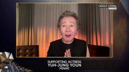 BAFTA 2021 : Yuh-Jung Youn meilleure actrice dans un second rôle pour MINARI