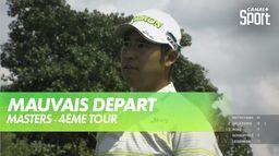 Premier départ délicat pour Matsuyama : Masters - 4ème Tour