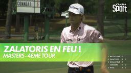 Zalatoris en feu ! : Masters - 4ème Tour