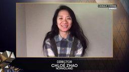BAFTA 2021 : Chloé Zhao remporte le prix de la meilleure réalisation pour Nomadland