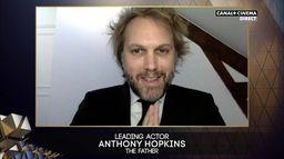 BAFTA 2021 : Anthony Hopkins sacré meilleur acteur pour The Father