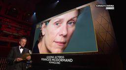 BAFTA 2021 : Frances McDormand, BAFTA de la meilleure actrice pour NOMADLAND