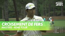 Matsuyama et Schauffele croisent le fer : Masters - 4ème Tour