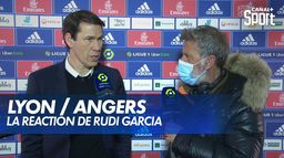 La réaction de Rudi Garcia après Lyon / Angers : Ligue 1 Uber Eats