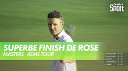 Fantastique putt de Justin Rose : Masters - 4ème Tour