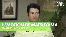 Les premiers mots d'Hideki Matsuyama : Masters - 4ème Tour