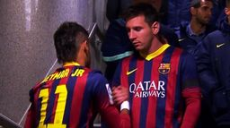 El Clasico 13/14: hat-trick Leo Messiego