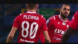 Skrót meczu Wisła Kraków - Zagłębie
