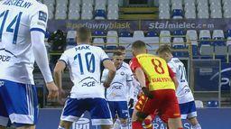 Skrót meczu Stal - Jagiellonia