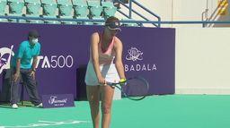 Kenin - Sakkari: skrót ćwierćfinału turnieju WTA 500 w Abu Dhabi