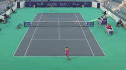 Svitolina - Kudermetova: skrót ćwierćfinału WTA 500 w Abu Dhabi
