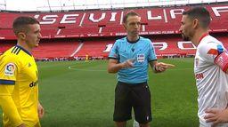Skrót meczu Sevilla - Cadiz