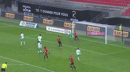 Skrót meczu Stade Rennes - Saint Etienne