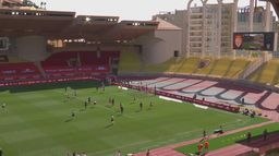 Skrót meczu AS Monaco - Stade Brest