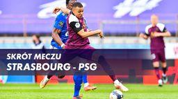 Skrót meczu Strasbourg - Paris SG