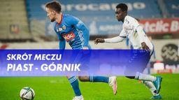 Skrót meczu Piast - Górnik