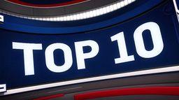 Top 10 zagrań NBA z 13 kwietnia