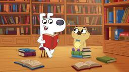 Pies Uwielbia Książki