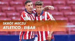 Skrót meczu Atletico - Eibar