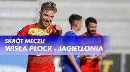 Skrót meczu Wisła Płock - Jagiellonia