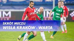 Skrót meczu Wisła Kraków - Warta