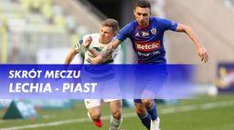 Skrót meczu Lechia - Piast