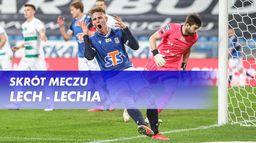 Skrót meczu Lech - Lechia