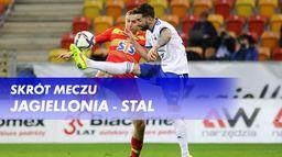Skrót meczu Jagiellonia - Stal
