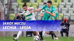 Skrót meczu Lechia - Legia