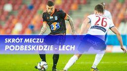 Skrót meczu Podbeskidzie - Lech