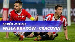 Skrót meczu Wisła Kraków - Cracovia