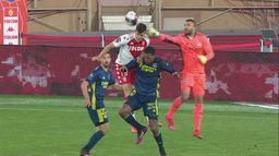 Skrót meczu Monaco - Lyon