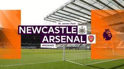 Skrót meczu Newcastle - Arsenal