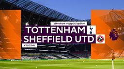 Skrót meczu Tottenham - Sheffield