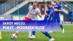 Skrót meczu Piast - Podbeskidzie