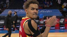 Skrót meczu Atlanta Hawks - Philadelphia 76ers