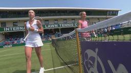 Skrót meczu Anett Kontaveit - Viktorija Golubic